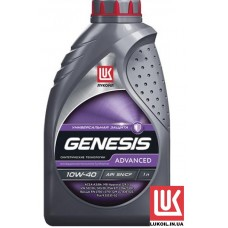 ЛУКОЙЛ GENESIS ADVANCED 10w-40 1 литр